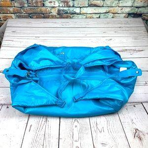 Nike blue duffle bag